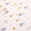 Bamboo Kam Towel Home Textiles Cotton Class A 6 Layer Gauze Baby Child Towel Baby Baby Small Towel 3 Pack 45g / Article 25 * 50cm