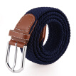 (JEVI) men and women belt buckle thick knitted canvas belt belt casual belt gift box JWYD-1036