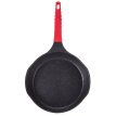 [Jingdong Supermarket] cooker king's Bottom Pot Meal Stone Big V Frying pan 26cm Non-stick pan Less fume Induction Cooker Un