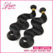 Brazilian hair weave bundles virgin human hair extension body wave 2 bundles deal grade hair