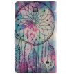 Pink Dreamcatcher Style Classic Flip Cover with Stand Function and Credit Card Slot for Samsung Galaxy Tab 4 T330