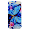 Blue butterfly Pattern Soft Thin TPU Rubber Silicone Gel Case Cover for iPod Touch 5