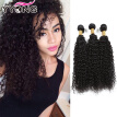 Peruvian Kinky Curly Hair 3 Bundles 8A Unprocessed Virgin Hair Peruvian Curly Virgin Human Hair Weave Sales Fast Shipping