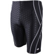 YINGFA (YINGFA) swim trunks leisure five points men's trousers imitation shark skin Slim knee swim trunks Y3028 black XL