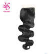 7A Grade Unprocessed Human Hair Virgin Hair Body Wave Free Part Lace Closure Brazilian Body Wave with 4 Bundles Hair Weft