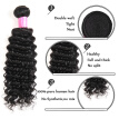 Top Brazilian Virgin Hair Deep Wave 1 Bundle 7A Brazilian Curly Hair Curly Weave Human Hair Extensions Deep Curly Hair Bundle