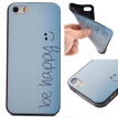 Happy Pattern Soft Thin TPU Rubber Silicone Gel Case Cover for IPHONE 5/5S/5SE