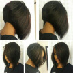Glueless Full lace human hair bob wigs for black women straight bob lace front wig with bangs natural color