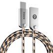 BIAZE K13 braided zinc alloy Type-C data cable Andrews mobile phone charger power cord 1.2 m Jinhua P9 / mate9 / glory V8 / music as 1S2 / millet 5