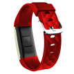 MOONPI S2 smart bracelet dynamic heart rate monitoring swimming sports bracelet touch OLED screen information caller display micro letter movement vitality red