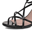 WETKISS 2017 Classic Gladiator Women Sandals Sexy Narrow Band Cross tied Summer Shoes High Heels Mesh Cover Heel Sandals Women
