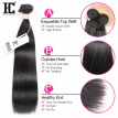 HC Hair Products With Closure Straight Brazilian Virgin Hair With Closure 8A Brazilian Straight Hair 3 Bundles With Closure HC