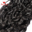 Malaysian Virgin Hair 2 bundles Water Wave Wet And Wavy Curly Weave Human Hair Bundles Mi Lisa Malaysian Water Wave Virgin Hair