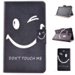 Naughty Smile Style Classic Flip Cover with Stand Function and Credit Card Slot for Samsung Galaxy Tab 4 T230
