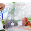 Asakusa fresh Japanese brand disposable PE dense bag large 27cm * 28cm * 15 only double zipper seal thick fruit food refrigerator fresh bag