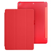 (ESR) Apple new iPad protective cover 2017 new iPad7 protective shell drop three fold stent 9.7 inch leather case Yue color series of energy red