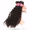7A Grade Curly Malaysian Virgin Hair 4 Bundles Female Star 100% Unprocessed Human Hair Weaves