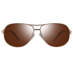 Love (LianSan) polarized sunglasses male business color film driving mirror sunglasses 651 gold tea