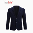 INTERIGHT Men 's Knitting Casual Jackets Jacket Cyan XL Code