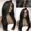 Top Quality Pre Plucked Full Lace Human Hair Wigs For Black Women 150 Density Brazilian Natural Straight Lace Front Human Hair Wig