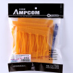 AMPCOM (XLCOM) cable nylon cable ties telephone line label label logo tied with yellow 100
