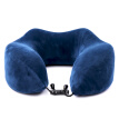 CarSetCity car headrest portable memory foam U-shaped pillow car with office neck pillow sleeping pillow CS-83086 blue