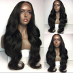 Top 7A Brazilian Natural Body Wave Human Hair Lace Front Wigs Black Women Glueless Wavy Full Lace Wigs With Baby Hair Lace Wigs