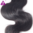Unprocessed Virgin Indian Hair Weft  Indian Virgin Hair Body Wave 3 Pcs Lot Human Hair Weave Wavy Indian Remy Hair Weft Extensions