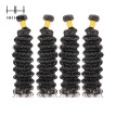 HHHair Cambodian Curly Hair 4 Bundles Cambodian  Deep Wave Curly Weave Human Hair Cambodian  Virgin Hair