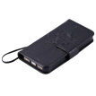 Black Tree Design PU Leather Flip Cover Wallet Card Holder Case for IPHONE 5