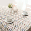 FOOJO rich tablecloth high temperature waterproof anti-oil PVC tablecloth table cloth 135 * 180cm grid