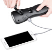 Tourmax F501 Hand-Crank Combo Flashlight / USB Charger