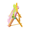 Shaoxi culture children's multi-function folding reading frame pink primary school student bookshelf / book holder / textbook stent