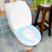 Japan Lugu (LEC) BB-143B paste toilet seat summer thin section of non-disposable blue