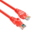 Shanze (SAMZHE) six types of cable CAT6 Gigabit high-speed network line indoor and outdoor 8-core network cable Category 6 computer TV router cable RED-6100 red 10 meters