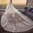 Designer 2017 Luxury Saudi Arabia Wedding Dress long Tail Ball Floor Length See through Back Bridal Gowns Princess Wedding Dress