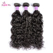 8A Indian Virgin Human Hair Wave Natural Wave Hair Weaving 1 to 3 Bundles Natural Black Water Wave Remy Hair Extensions