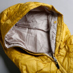 Marc Rebecca Solid Hooded Down Jacket Casual Jacket Short Jacket 66001G Yellow S