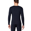 Playboy Qiuyi Qiuku Men's Thin Cotton Thermal Underwear Set Round Collar Foundation Bottom Lingerie Cotton Sweater Navy XXL