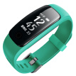 Moving hands Pom Pro bracelet smart bracelet sports bracelet heart rate bracelet full-screen touch vibration reminder sports step waterproof sunshine green