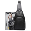 BOSTANTEN (BOSTANTEN) men's chest brassiere nylon trousers men's fashion canvas pockets leisure Messenger bag B5171041 black