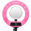 Rimma (EIRMAI) YB-R801 LED photography light ring photography fill light portrait portrait light indoor lighting shooting mobile phone self-timer anchor beauty beauty makeup pink