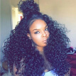 360 Kinky Curly Lace Band Frontal Closure With Bundles Bleached Knots Burmese Virgin Human Hair Pre Plucked 360 Frontal Curly
