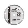 WORX Mini Circular Saws 115mm Diamond Saw Blades WA5048 Cutting Tiles Household Hardware Power Tools WX429 Chainsaw