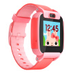 Sogou Sugar Cat Child Phone Watch Video Edition T3 Color Screen Camera Children's Smart Watch Waterproof GPS Positioning Student Watch Mobile Red