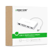 Green Alliance Type-C to VGA Converter Apple MacBook Extended Cable Fast Ethernet RJ45 Ethernet Port Data Cable Adapter USB-C3.1 Hub HUB Splitter 40378