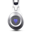 Wolf Bo Wang (NUBWO) N2 computer headset music game headset K song heavy bass USB with microphone voice silver