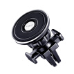 Card ornaments car phone holder aluminum alloy magnetic suction type CS-83019 black general