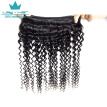 Indian Deep Wave Virgin Hair Extension Indian Human Hair Weave 4 Bundle Deals Cheap Indian Curly Virgin Hair Indian Deep Wave