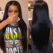 8A Unprocessed Indian Straight Virgin Hair Remy Human Hair Weave 4 Bundles Indian Virgin Hair Extension Hair Products
